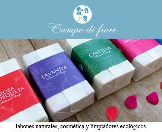 Campo di fiore: Jabones naturales, cosmética y limpiadores ecológicos